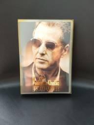 Box DVDs Trilogia O poderoso chefão