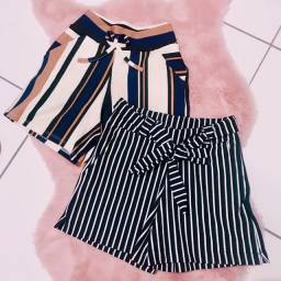 Shorts Feminino Listras