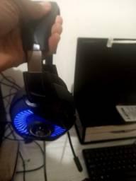 Fone headset com led $180