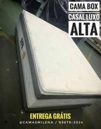 Cama Luxo Alta - Sem Taxa de Entrega