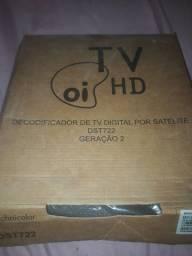 Decodificador de TV Digital por satélite DST722