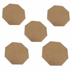 Artesanato placas octagonais mdf