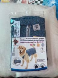 Roupa cirúrgica e protetora cachorro - TAM 7 - para cachorros de 10 a 13 kgs