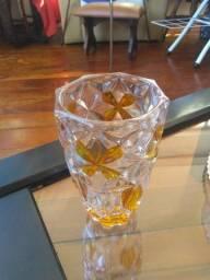 Vaso de cristal 2 cores