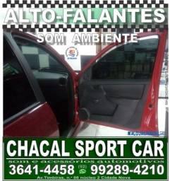 Título do anúncio: alto-falante para porta de carro (produtos novos e com nota fiscal)