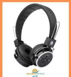 Fone de Ouvido Headphone Bluetooth S/ Fio Micro SD