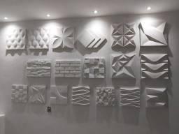 Placas decorativa 3D