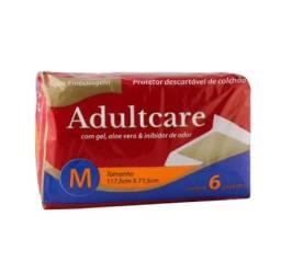Título do anúncio: Protetor Colchão Adultcare Descartável Aloe Vera M 5 Und