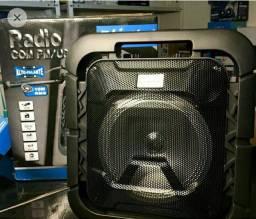 Caixa de Som- rádio com FM/USB