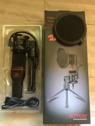 Kit Microfone Seyfert + Braço Articulado