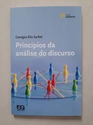 Livro Princípios Da Análise Do Discurso - Georges-Élia Sarfati