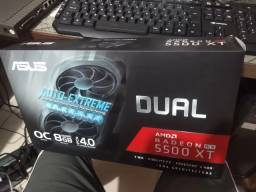 Placa De Vídeo Amd Asus Radeon Rx 5500 Xt 8gb Nova, lacrada, 1 ano de garantia