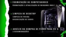 Montagem de PC, Formatação e Manutenção