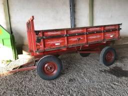 Carreta agrícola 4 rodas para trator