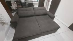 Sofa retrátil 4 lugares
