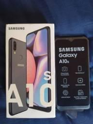 Samsung A10s novo na caixa