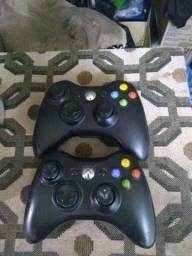 Controles para Xbox 360 semi novos