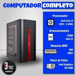 PC Computador novo I3 8GB com garantia!
