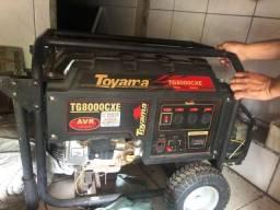 Gerador Gasolina Toyama Tg8000cxe