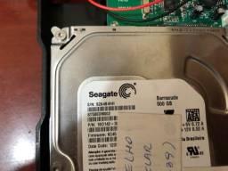 HD 500 GB Seagate várias unidades disponíveis