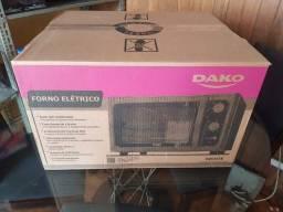 Forno Elétrico Dako Supreme Bancada 44 Litros com Grill Dourador - Preto valor 450,00