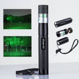Caneta Laser 159.000mw 50km Verde Longo Alcance Bateria Sup