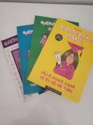 """Livros da coleção """"Querido Diário Otário"""""""