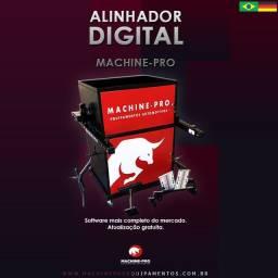 Equipamento Novo   Alinhador Digital   Marca Machine-Pro