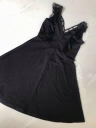 Pra Levar Hoje - Vestido preto Tamanho 38/40 em Perfeito Estado bb