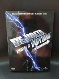Box DVDs Trilogia De volta para o futuro