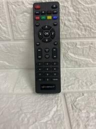 Controle de Receptor e Tv