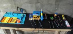 Vendo kit de ferramentas para manutenção de celulares e tablet