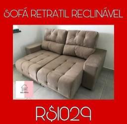 Sofá retrátil reclinável sofa retrátil reclinável sofa retrátil reclinável