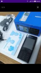 Nokia X2-00 Black Desbloq & Original - R A R O  novo