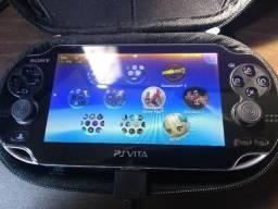 PS Vita Fat - Call of Duty Edition - 64gb Classe 10 + Cartão Sony 4GB