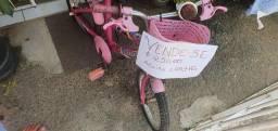 Bicicleta infantil aro 16, semi nova.