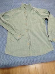Camisa social verde da Pool