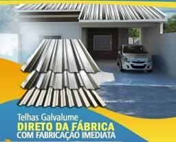 Promocao de telhas galvalumes 0,35 0,40 0,43 somos de Manaus
