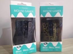 Mouse Gamer x Zhang 4x Dpi até 3200