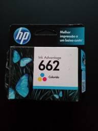 Vendo cartucho colorido Novo HP 662 e preto 662XL
