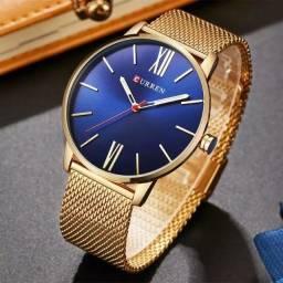 Relógio Masculino Curren Aço Original