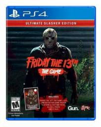 Friday The 13th The game ps4 mídia física