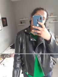 Jaqueta couro fake