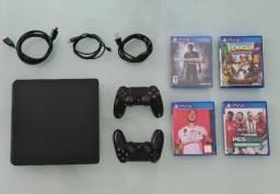 Playstation 4 (2 manetes, PES 21, Fifa 20)