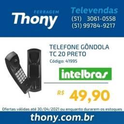Telefone Gondola interfone intelbras TC20