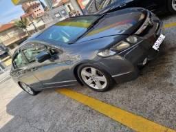 New Civic Lxs 1.8 flex 2008 doct.Ok blindado automático-Não aceito troca