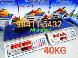 Balança comercial eletrônica 40 kg ( pronta entrega )