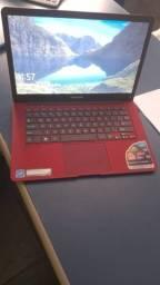 Notebook Positivo Motion Red Q232a Quad Core(usado)