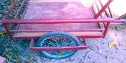Vendo bicicleta carrinho 150 reais