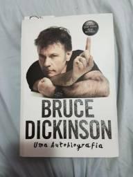Bruce Dickinson Uma Autobiografia Iron Maiden otimo estado!
